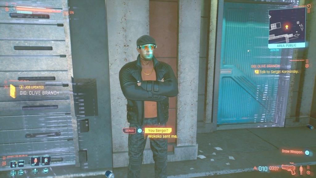 Cyberpunk 2077 Sergei Karasinsky