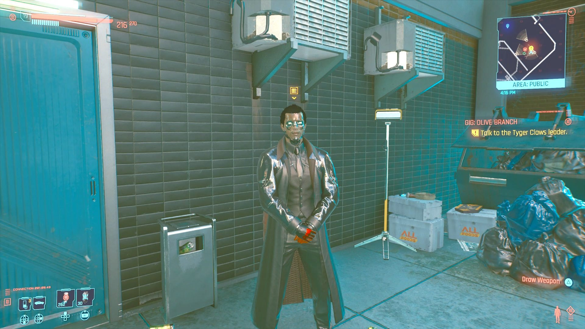 Cyberpunk 2077 Sergei Karasinsky's Gift