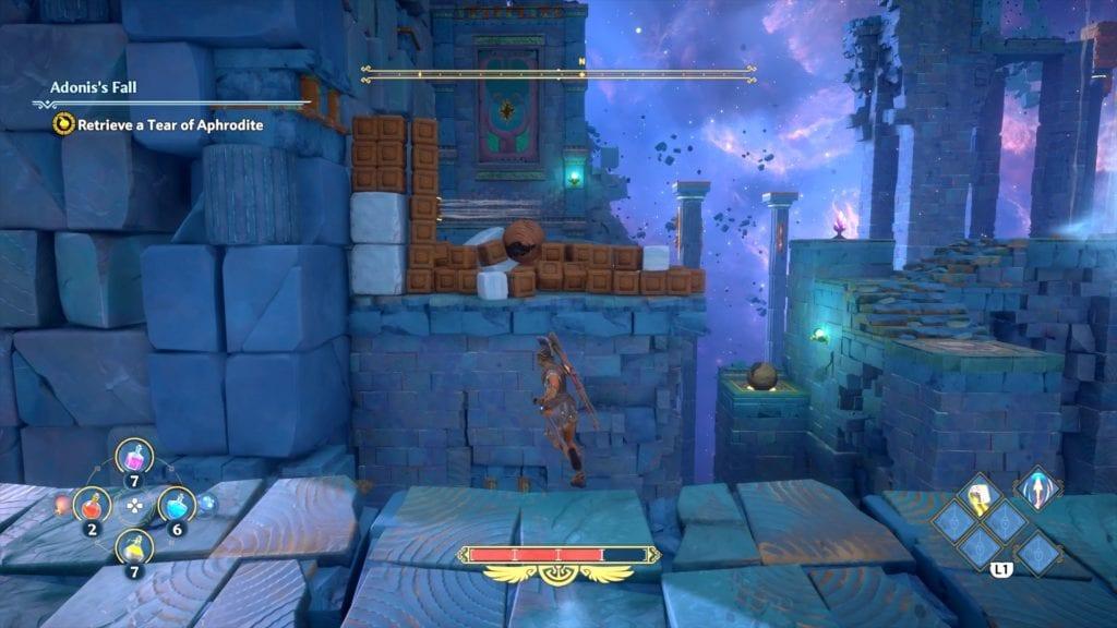 Immortals Fenyx Rising Adonis's Fall Vault Of Tartaros Walkthrough