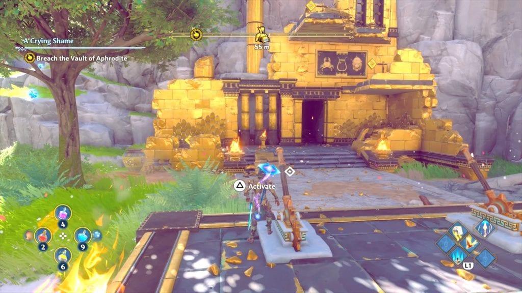 Immortals Fenyx Rising Artemis Armor Set Helmet Location