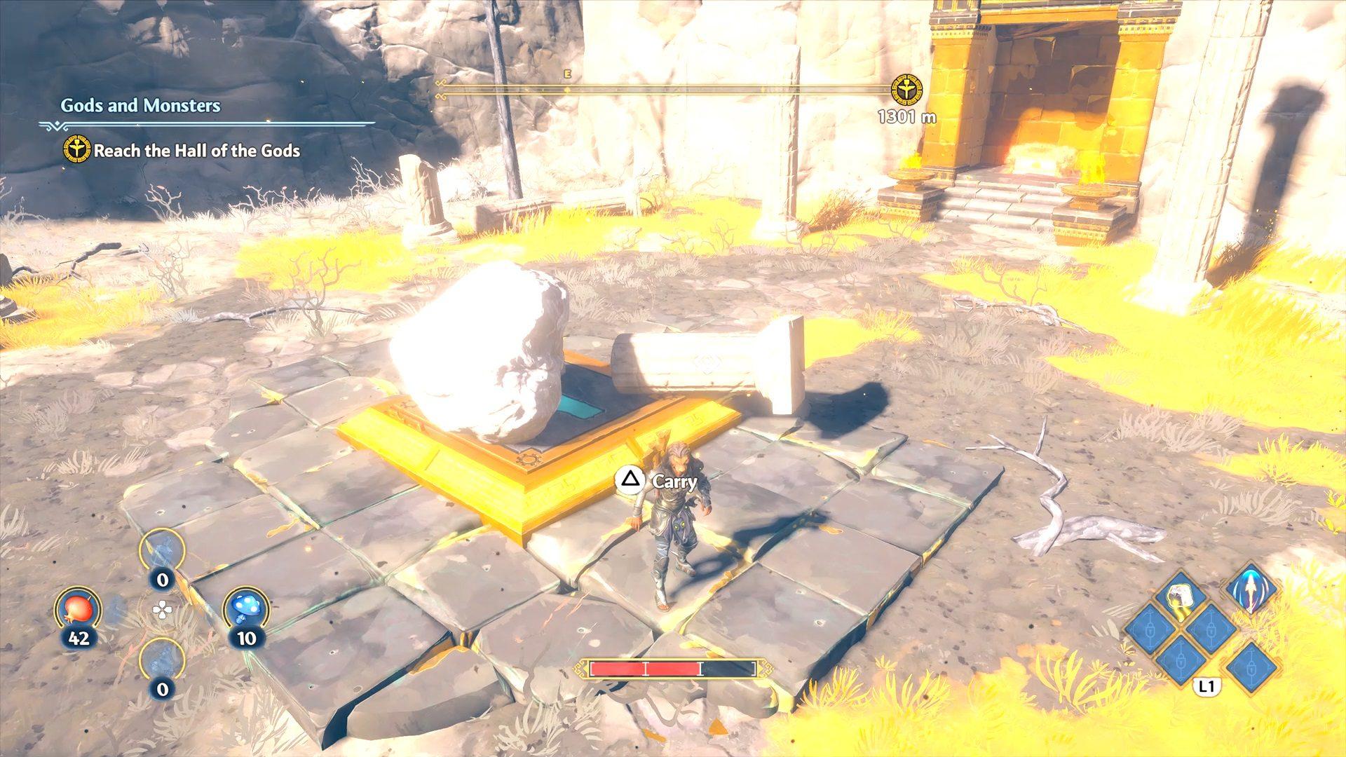 Immortals Fenyx Rising Clashing Rocks Minotaur Guarded Epic Chest
