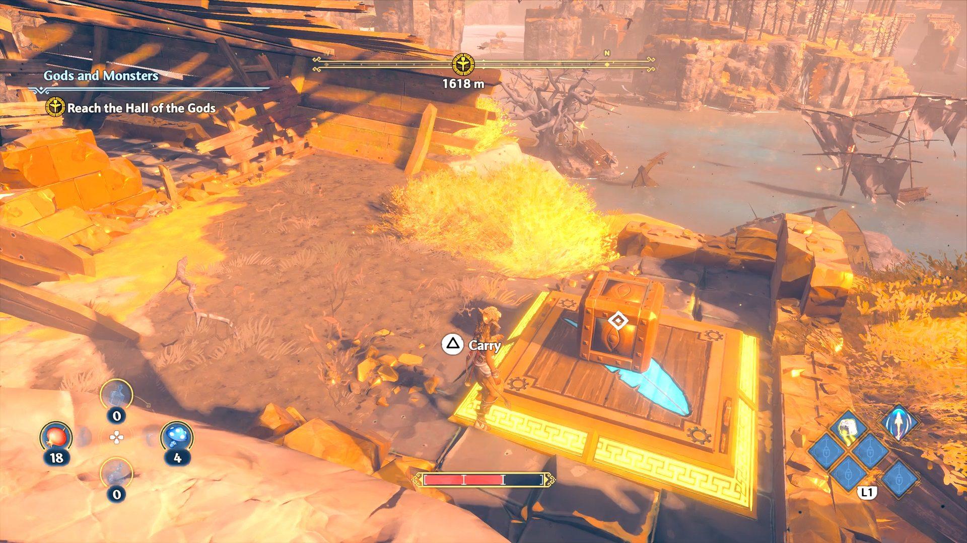 Immortals Fenyx Rising Clashing Rocks Shipwreck Epic Chest