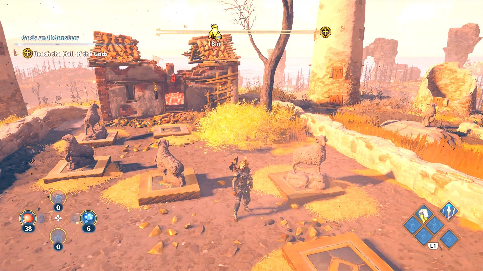 Immortals Fenyx Rising Clashing Rocks Stone Sheep Location