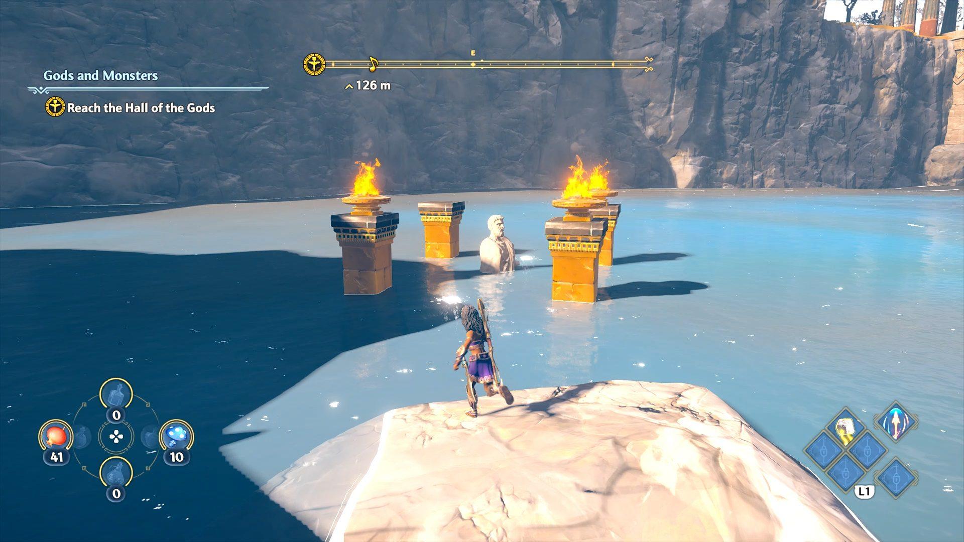Immortals Fenyx Rising Clashing Rocks Underwater Epic Chest