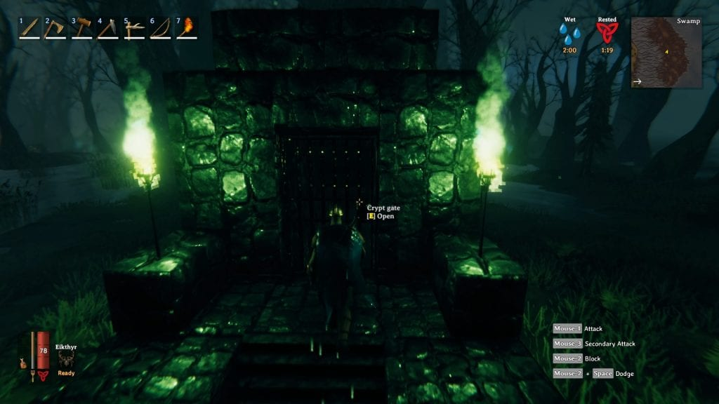 Valheim How To Open Crypt Gates