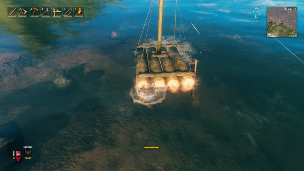 Valheim Raft How To Get On