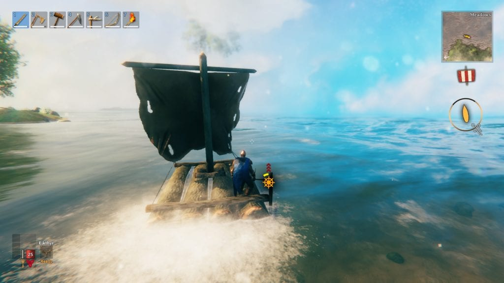 Valheim Raft How To Use Sail