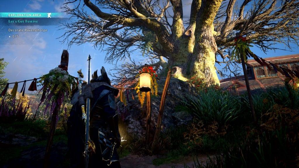 Assassin's Creed Valhalla Decorate Ravensthorpe Bug