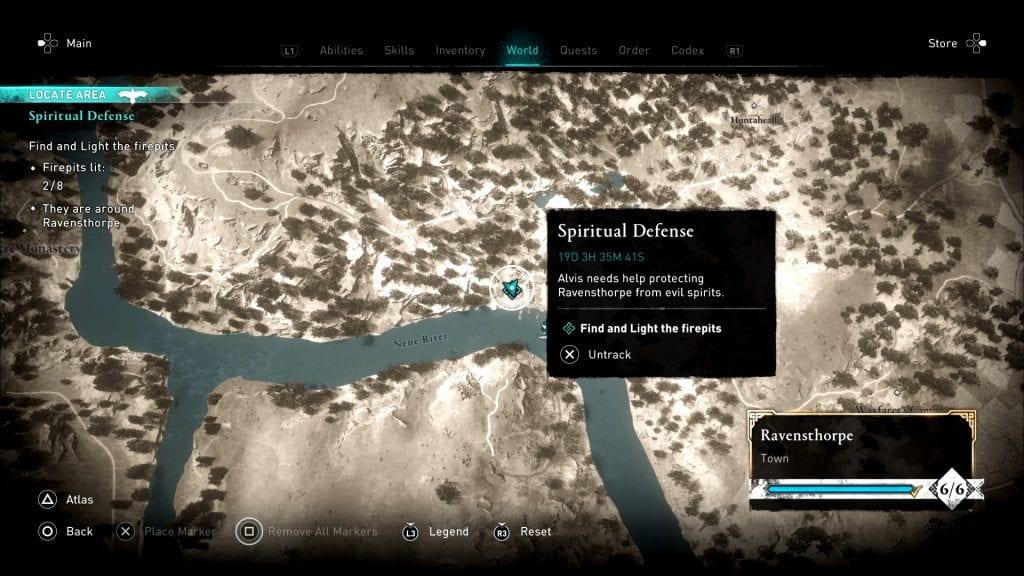 Assassin's Creed Valhalla Firepit Location 2