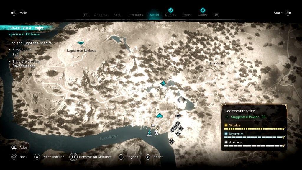 Assassin's Creed Valhalla Firepit Location 5
