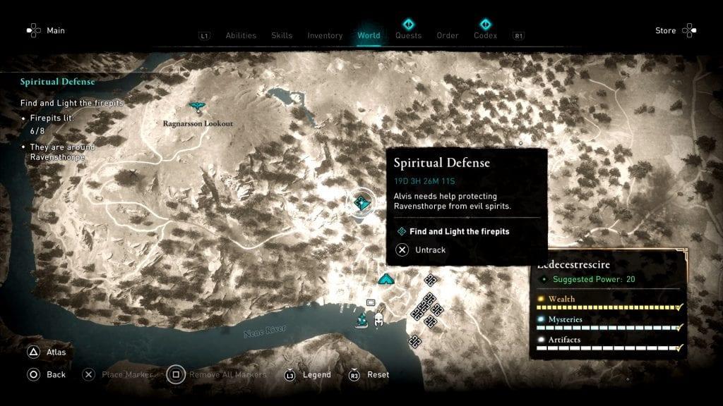 Assassin's Creed Valhalla Firepit Location 6