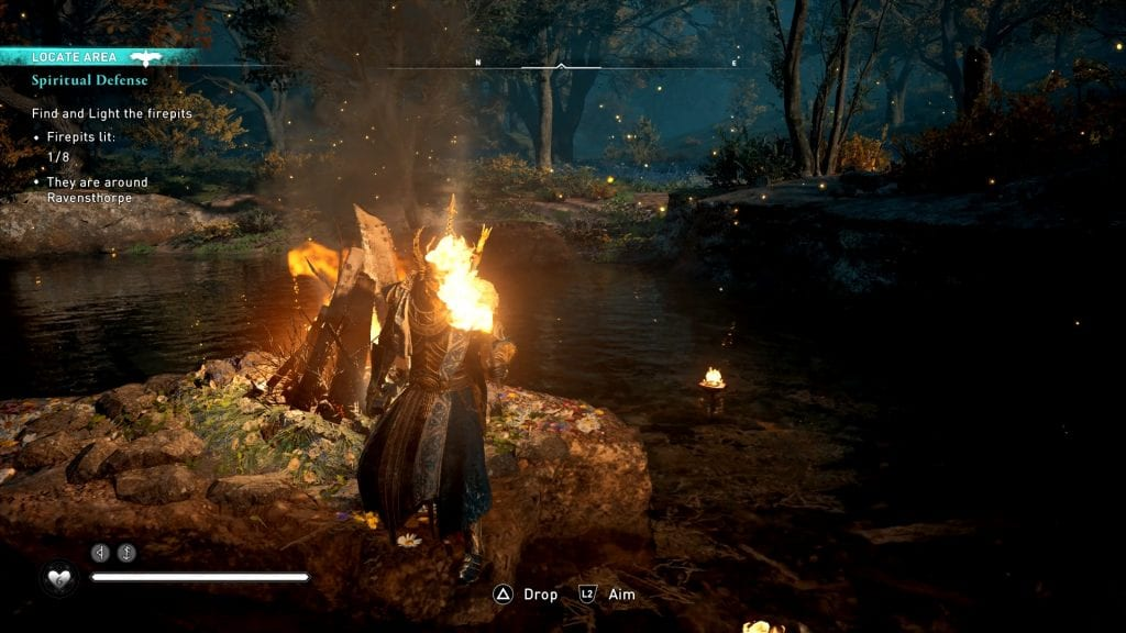 Assassin's Creed Valhalla Firepits Locations