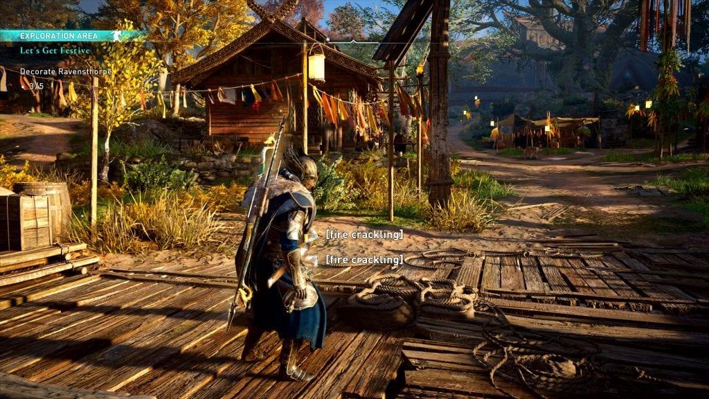 Assassin's Creed Valhalla Let's Get Festive Ostara Festival Quest