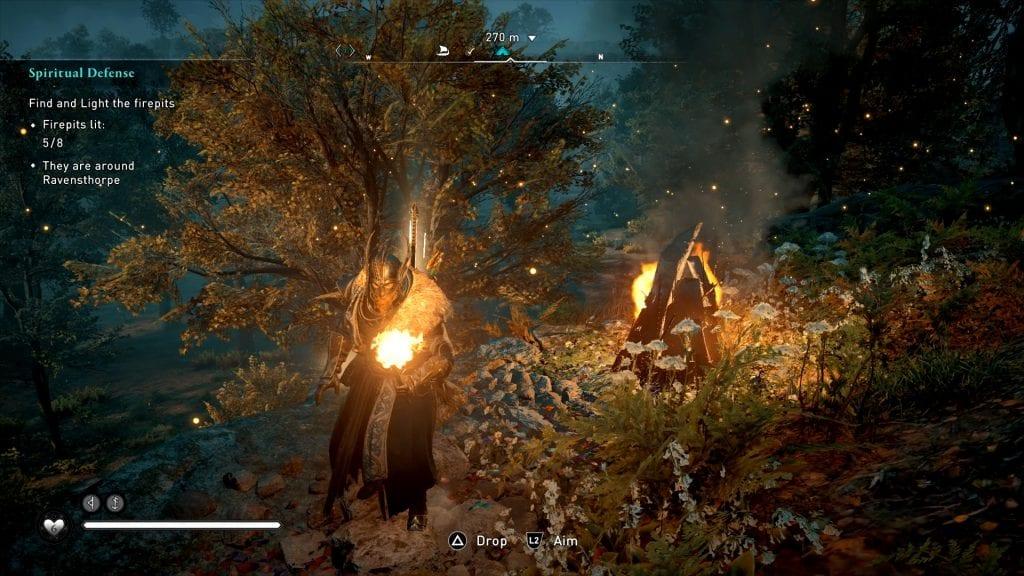 Assassin's Creed Valhalla Missing Firepit