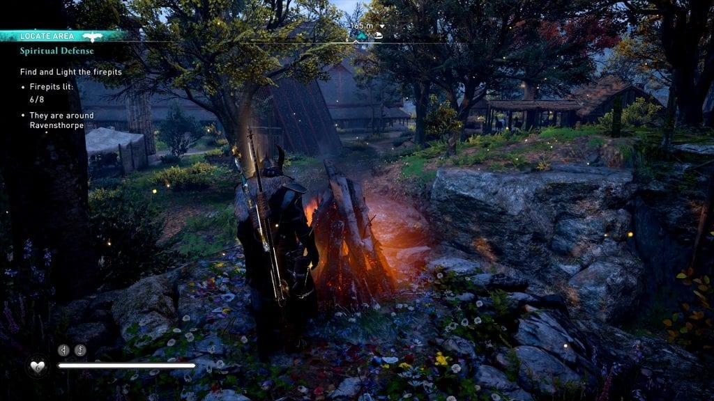 Assassin's Creed Valhalla Spiritual Defense Bug