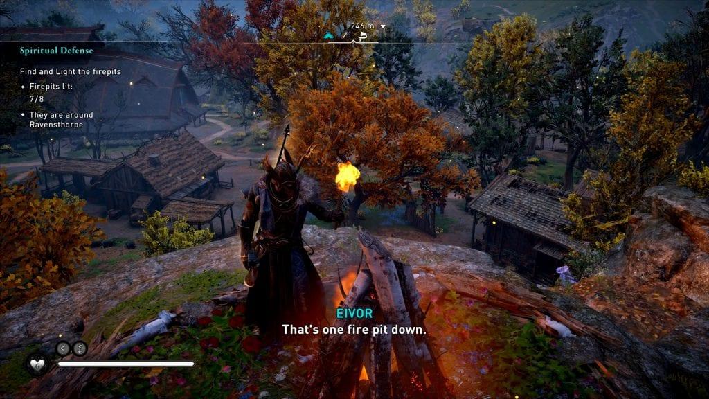 Assassin's Creed Valhalla Spiritual Defense Glitch