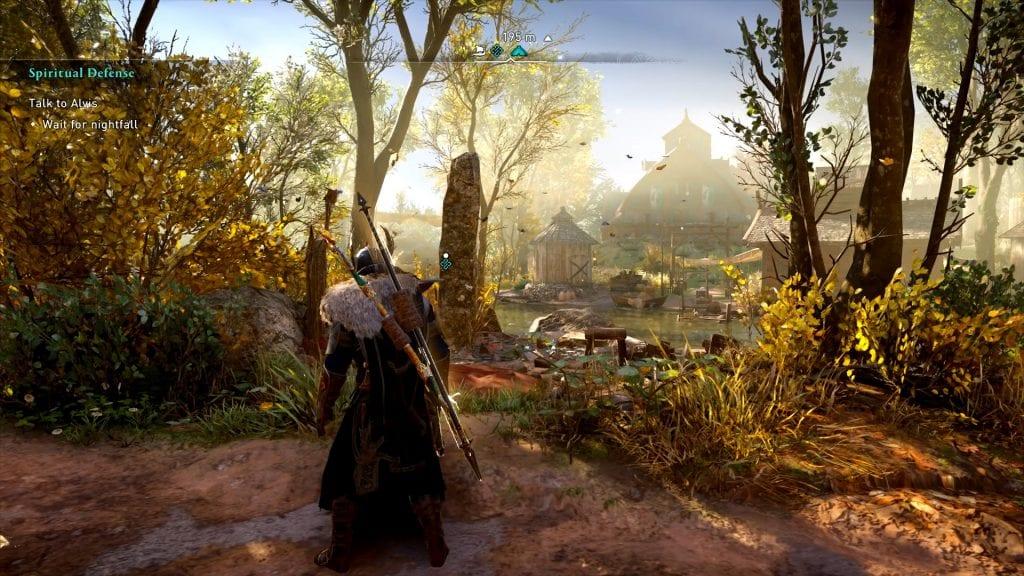 Assassin's Creed Valhalla Spiritual Defense Quest