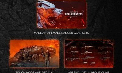 Outriders Hell's Rangers Pack Location