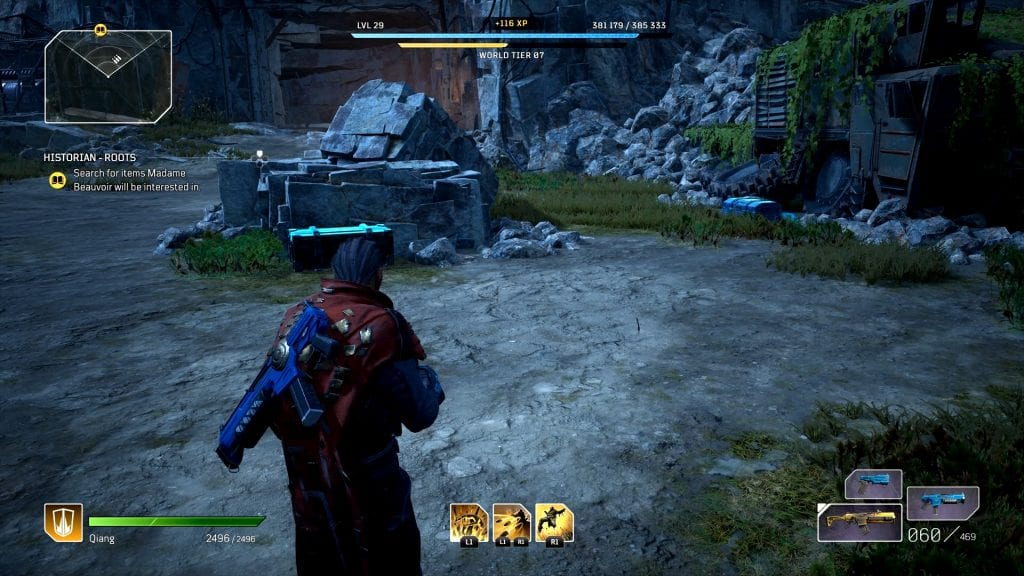 Outriders Pest Filled Mine Loot Chests Locations