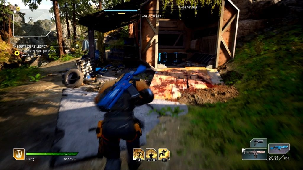 Outriders Secluded Homestead Chests Locations