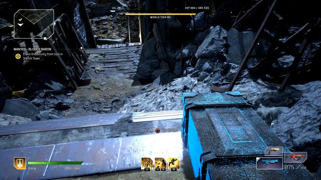 Outriders Wreckage Zone Bloodsoaked Fort Chests Locations