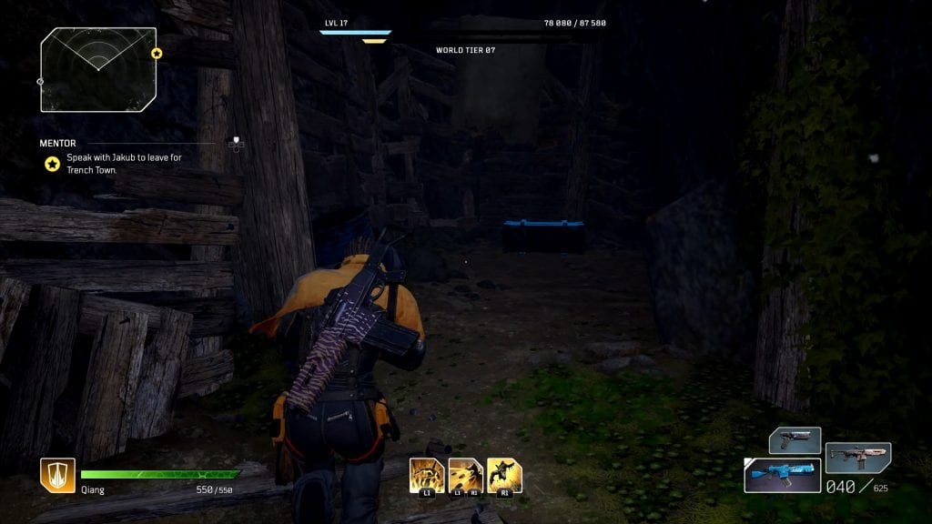 Outriders Wreckage Zone Irradiated Shore Loot Chests Locations
